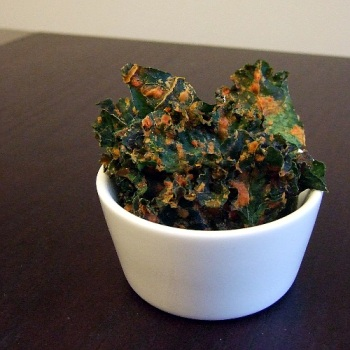 Spicy Kale Chips 1
