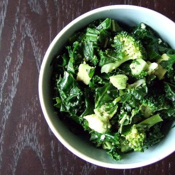 Kale and Broccoli Bowl 2
